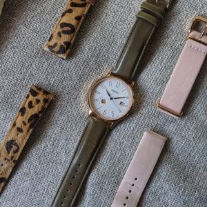 Fossil watch and bands(not ticking)